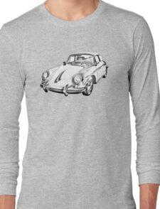 1962  Porsche 356 E Illustration Long Sleeve T-Shirt