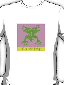 Frog Animal Alphabet T-Shirt