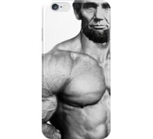 Abe muscles  iPhone Case/Skin