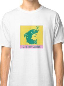 Catfish Animal Alphabet Classic T-Shirt