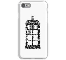 Abstract Dr. Who TARDIS iPhone Case/Skin