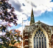 St Marys Church Finedon (HDR)  Sticker