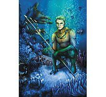 King of Atlantis Photographic Print