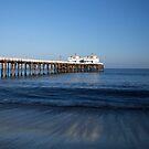 Malibu pier by DBArt
