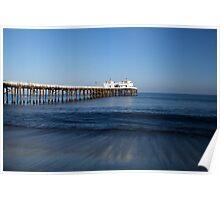 Malibu pier Poster