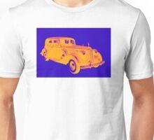 Colorful Packard Luxury Car Pop Art Unisex T-Shirt