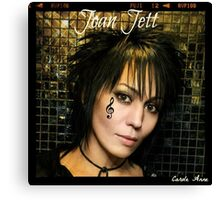 Joan Jett Canvas Print