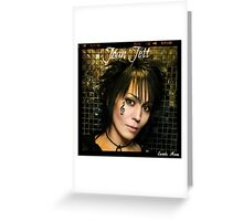 Joan Jett Greeting Card
