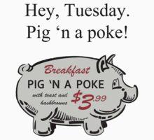 Pig 'n a Poke Kids Tee