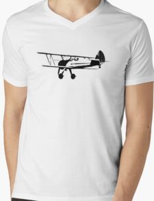 The Original Stearman T Mens V-Neck T-Shirt