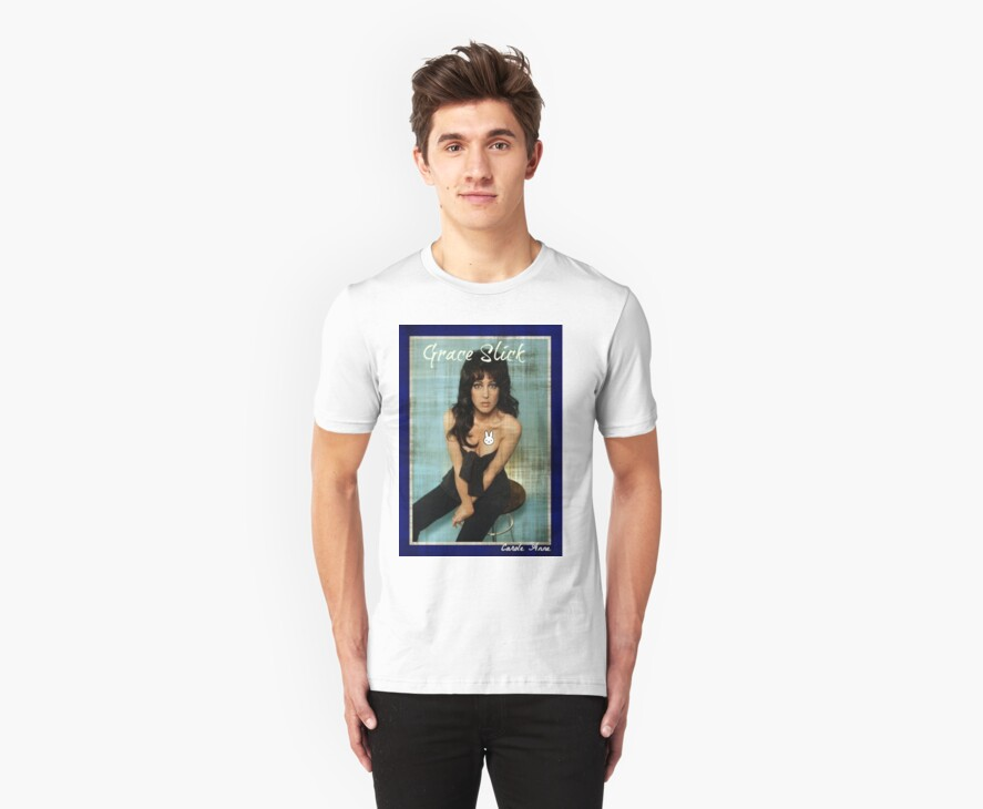 Grace Slick T Shirts Hoodies By Caroleanne Redbubble