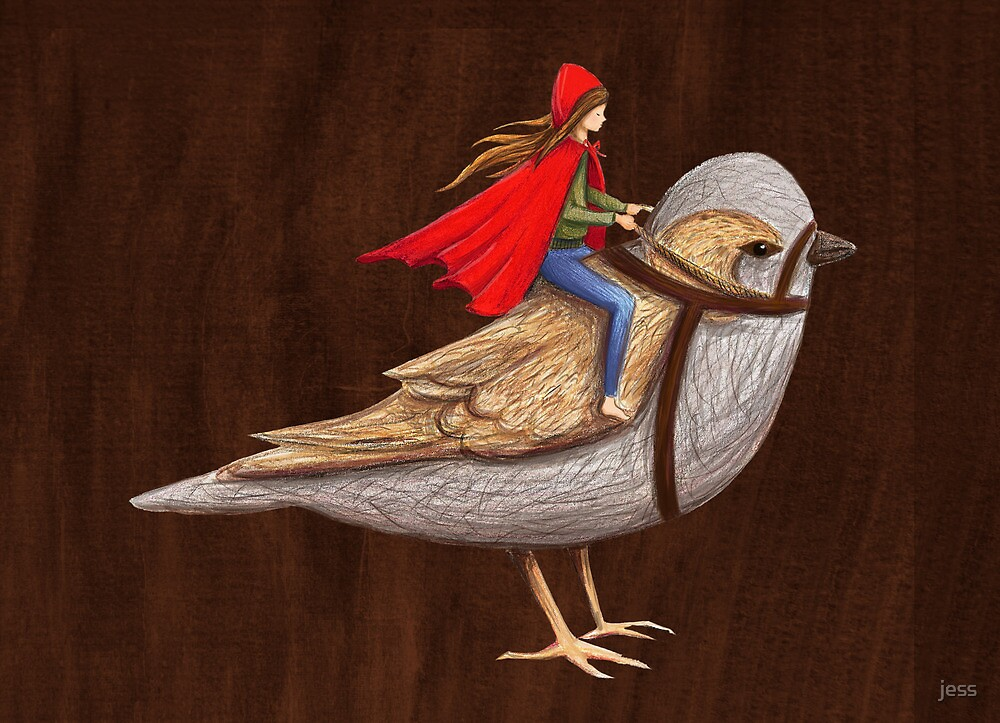 Sparrow Rider by jess