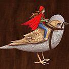 Sparrow Rider by jess