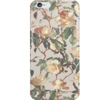 Soft Vintage Rose Pattern iPhone Case/Skin