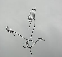 Wire Goose by Dian  Squire