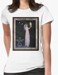 Gold Dust Woman Womens Fitted T-Shirt