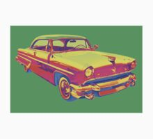 1955 Lincoln Capri Luxury Car Pop Art Baby Tee