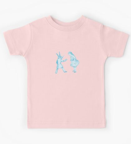 Alice and the White Rabbit Kids Tee
