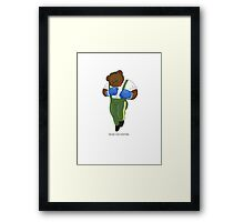 BEARS and FIGHTERS - Dudley Framed Print