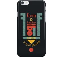 Form & Function iPhone Case/Skin