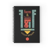 Form & Function Spiral Notebook
