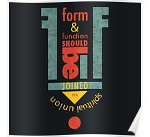 Form & Function Poster