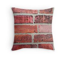 Brickwork Throw Pillow