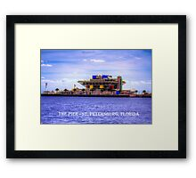 The Pier - St Petersburg, Florida Framed Print