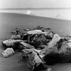 South Beach Breakwater by Jim Haley