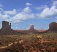 Monument Valley by aura2000