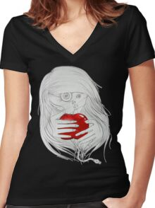 New Eve | Nouvelle Eve Women's Fitted V-Neck T-Shirt