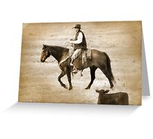 Bring in the herd Greeting Card