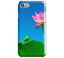 Yoga meditation lotus flower iPhone Case/Skin