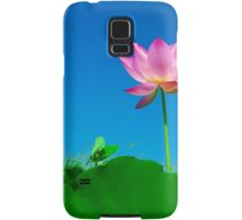 Yoga meditation lotus flower Samsung Galaxy Case/Skin