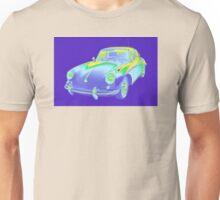 1962  Porsche 356 E Pop Image Unisex T-Shirt