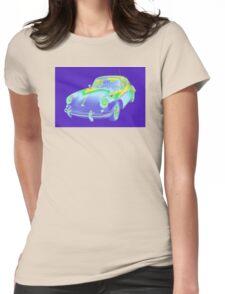 1962  Porsche 356 E Pop Image Womens Fitted T-Shirt