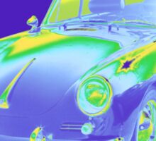 1962  Porsche 356 E Pop Image Sticker