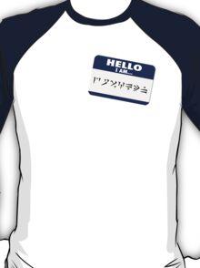 Hello I am - Dovahkiin T-Shirt