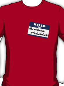 Hello I am - the archmage of Winterhold T-Shirt