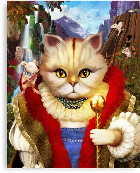 Cat King by jimiyo
