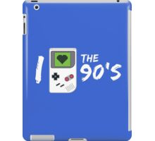 I Love the 90's iPad Case/Skin