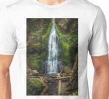 Marymere Falls Olympic Peninsula Washington Unisex T-Shirt