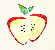 Retro Apple by Tiffany Atkin
