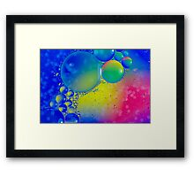 Ten Million Planets Framed Print