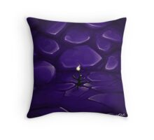 Flower Candle Throw Pillow