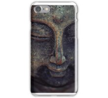 Buddha meditation iPhone Case/Skin