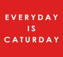 Everyday is Caturday Kids Tee
