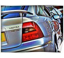 Vauxhall Vectra 2.5 V6 SRi Poster