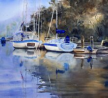 McCarr's Creek, Pittwater by Joe Cartwright