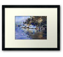 McCarr's Creek, Pittwater Framed Print